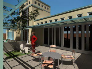 Genesis Custom Home Design Front Patio